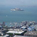 Pier 39 and Alcatraz