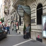 Entrance to Hotel Artemide on Via Nazionale