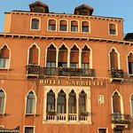 front of hotel as seen from the Grand Canal