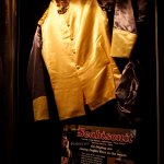 Celebrity Memorabilia on display from the movie Seabiscuit.