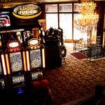 Casino gaming floor.