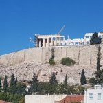 View from the Acropolis Museum