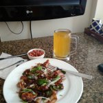 beer with chilli chicken