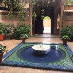 Fontaine dans le Jardin Majorelle