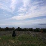 Uitkijkpunt over de Zwarte zee en Nesebar.