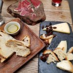 jamon iberico and Spanish cheeses