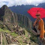 Machu Picchu on my birthday!
