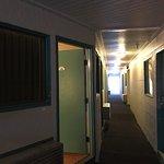 Hallway outside of room 330