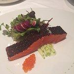 Signature salmon dish. YUM!