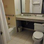 SPOTLESS modern decor bathroom.
