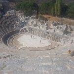 The big theatre in Ephesus