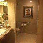 Nice, spacious bathroom