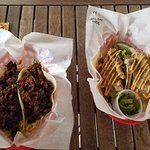 Korean BBQ & Grouper fish tacos