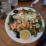 Salade crabe et crevettes