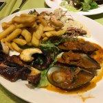 Fish Meze plate 2