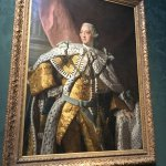 King George III. Loss of colonies led to close of 1st British Empire.