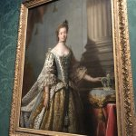 Queen Charlotte Sophia. Bore George III 15 (!) children.