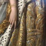 Details from Charlotte Sophia portrait.