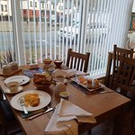 Wonderful breakfast at Allt-Na-Leven. Porridge to die for!