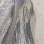 blackish coarse sand