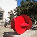 Sculpture in front of San Diego Museum of Art