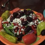 One of the best Greek salads we've had. Very fresh ingredients.