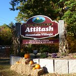 Attitash Mountain Village entrance