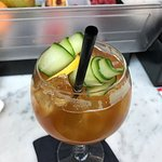Pimm's Cup Gin and Tonic