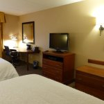 Double queen room -- Hampton Inn Poughkeepsie