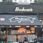 This is a photo of the front of Bodean's.