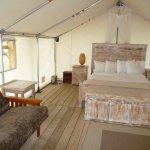 Premium site with queen bed