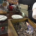S'more toasting at conference event