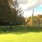 Fall view of Blue Heron 5th Hole
