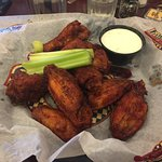 My large wings. So good. The celery was good as well.