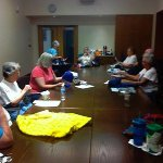 Drop in knitting and crocheting group at Fountaindale Public Library Thursday mornings,