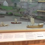 models of the lewis and clark boats