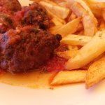 Meatballs with tomato souce