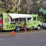 Food Truck at Community Centre Volcano, Hawaii