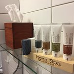 Koha Spa amenities