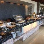 Breakfast Area on the 21st Floor