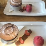 You will find it hard to beat the delicious soufflés at the Birch
