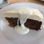 Slow Cooked Carrot Cake and Yoghurt
