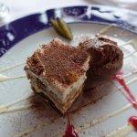 Dessert: Tiramisu mit Mousse au chocolat