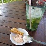Cocktails Mojito + tartare saumon