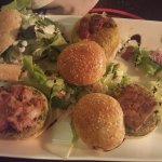 5 Types of mini Vegiterian burger