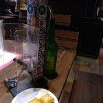 Sidra + bombas....un clásico delicioso