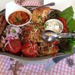 Greek platter for two