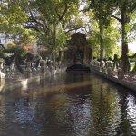 Medici Fountain in the Jardin du Luxembourg in Paris