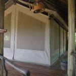 Zugang zum Zelt