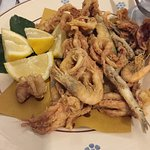 Typical secondi - this is frittura mista